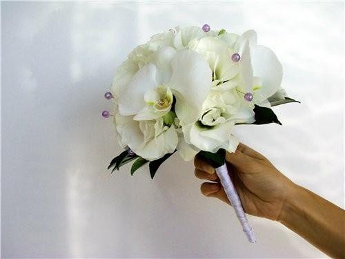 Букет невесты из экзотичных цветов — 10